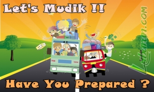 Illustration Prepare Yourself for Mudik