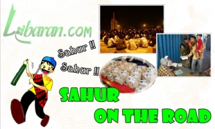 Illustration of Sahur on the Road: A New Good Tradition in Ramadan