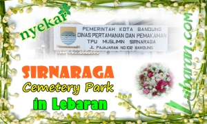 Illustration Sirnaraga Cemetery Park in Lebaran
